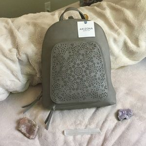 NEW w/tag Arizona Jean Co. Leather Backpack Purse